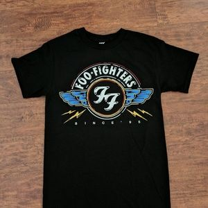 NEW Foo Fighters Wings Seal Logo UnisexTshirt